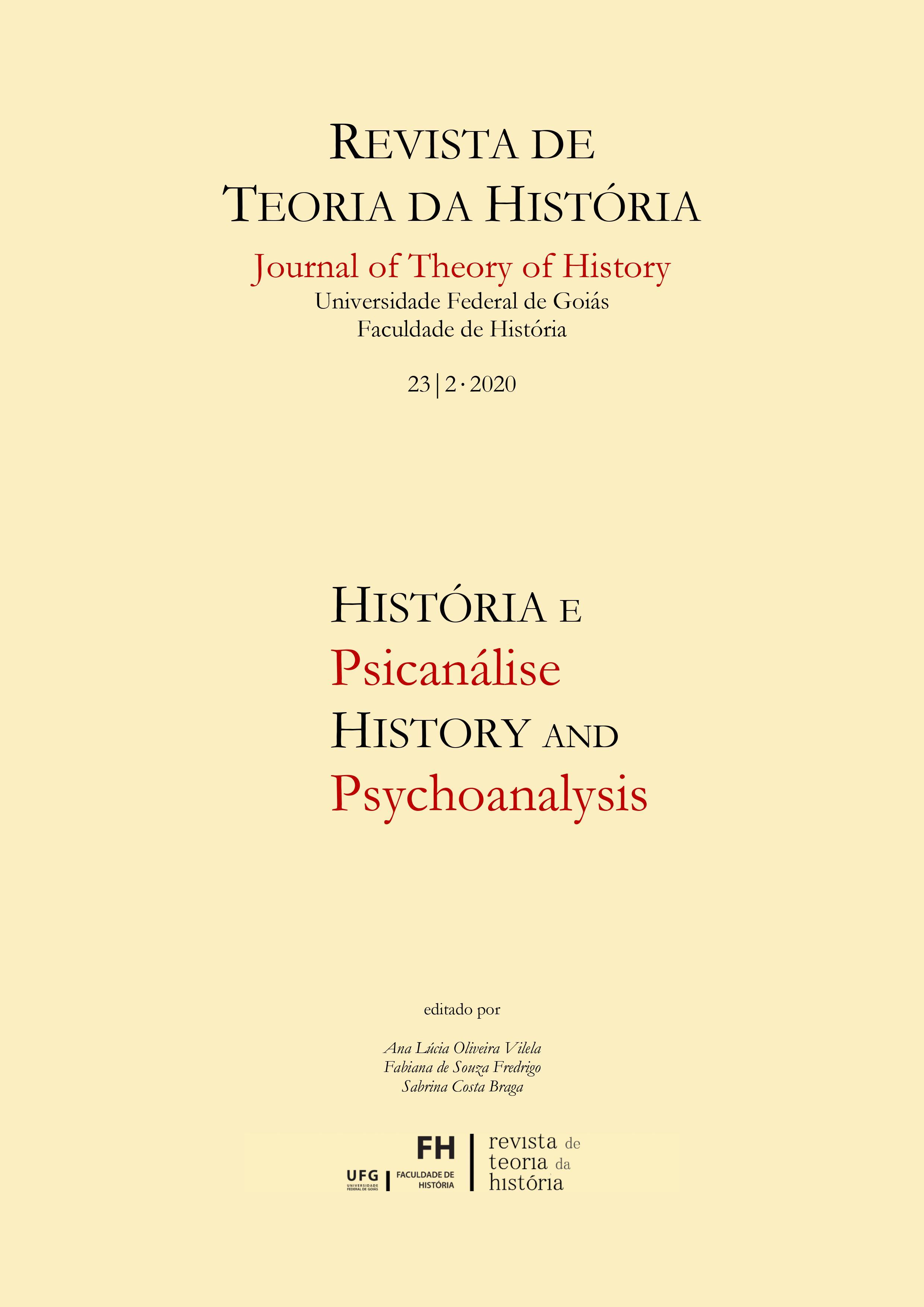Visualizar v. 23 n. 2 (2020): História e Psicanálise