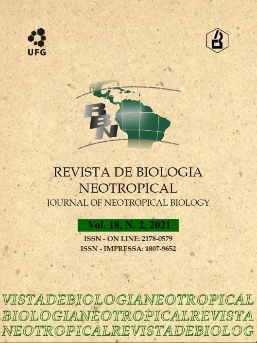 Visualizar v. 18 n. 2 (2021): Revista de Biologia Neotropical / Journal of Neotropical Biology