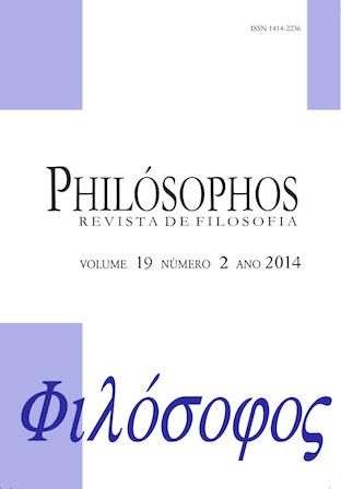 Volume Atual: Dossiê de Filosofia Antiga
