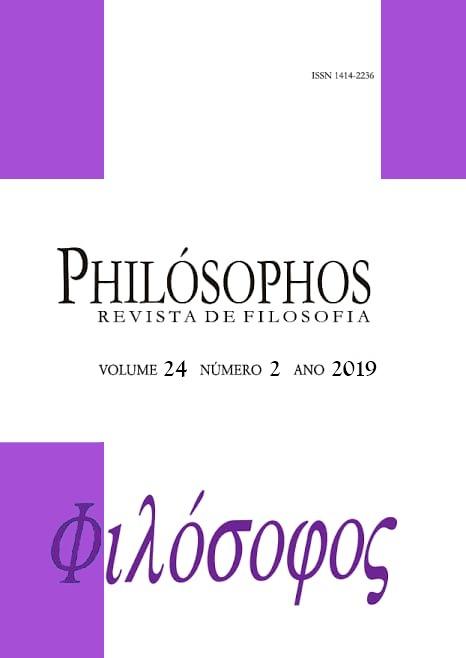 Visualizar v. 24 n. 2 (2019): Philósophos - Fluxo contínuo