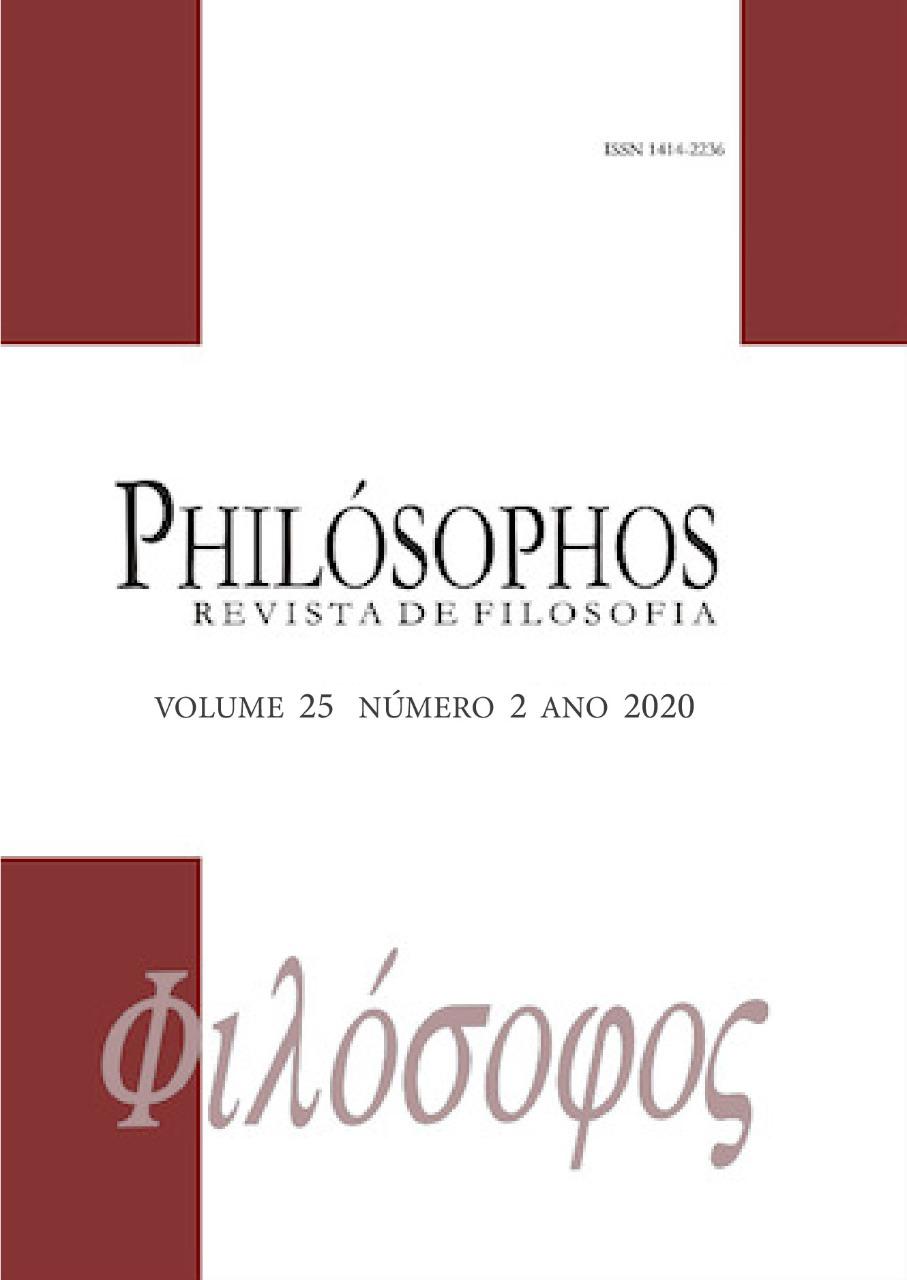 Visualizar v. 25 n. 2 (2020): Philósophos - Edição Temática: Estética e Filosofia da Arte