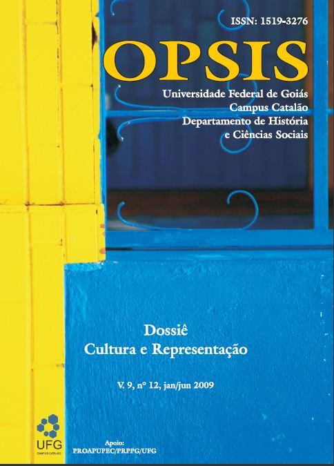 Visualizar v. 9 n. 12 (2009): Dossiê Cultura e representação