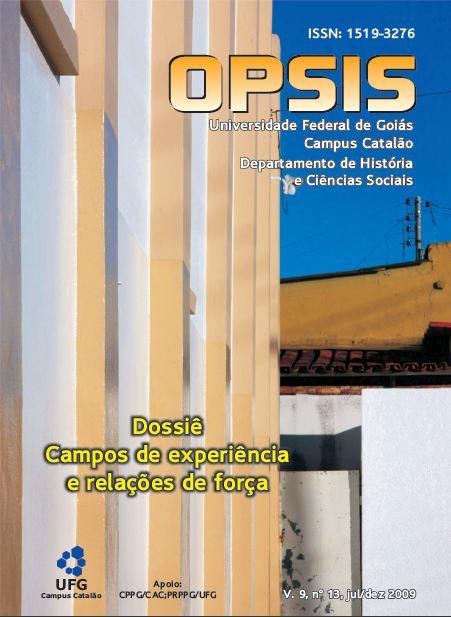 Visualizar v. 9 n. 13 (2009): Dossiê Campos de experiência e relações de força