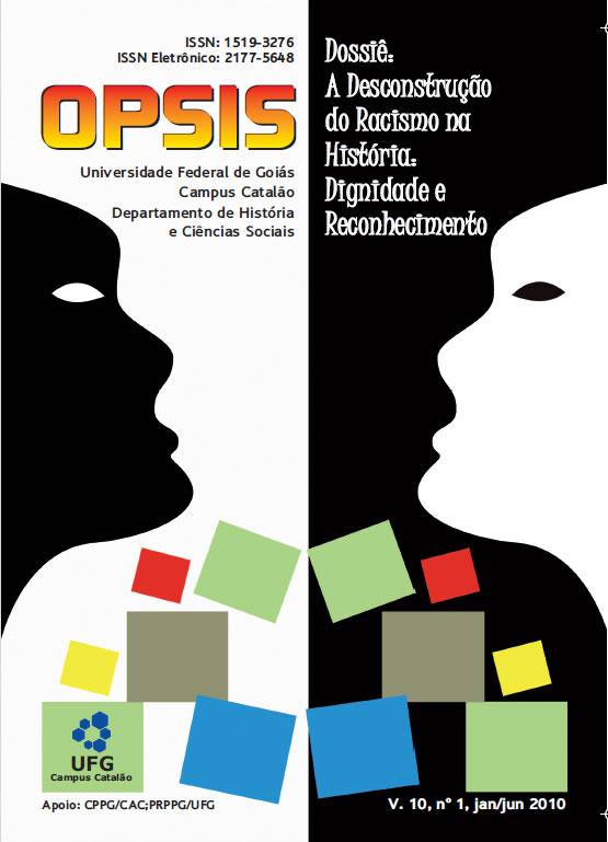 Visualizar v. 10 n. 1 (2010): Dossiê A desconstrução do racismo na história do Brasil