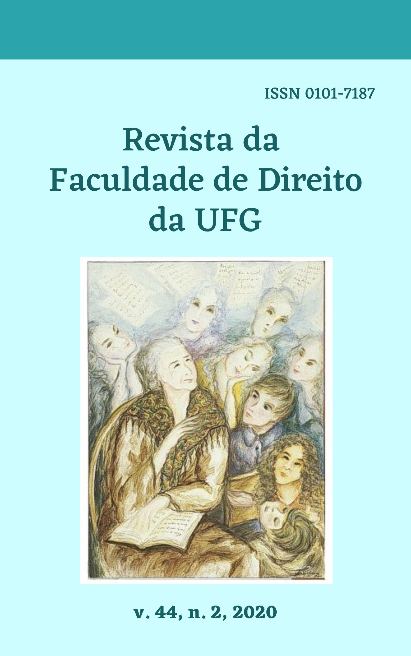 Visualizar v. 44 n. 2 (2020): REVISTA DA FACULDADE DE DIREITO DA UFG
