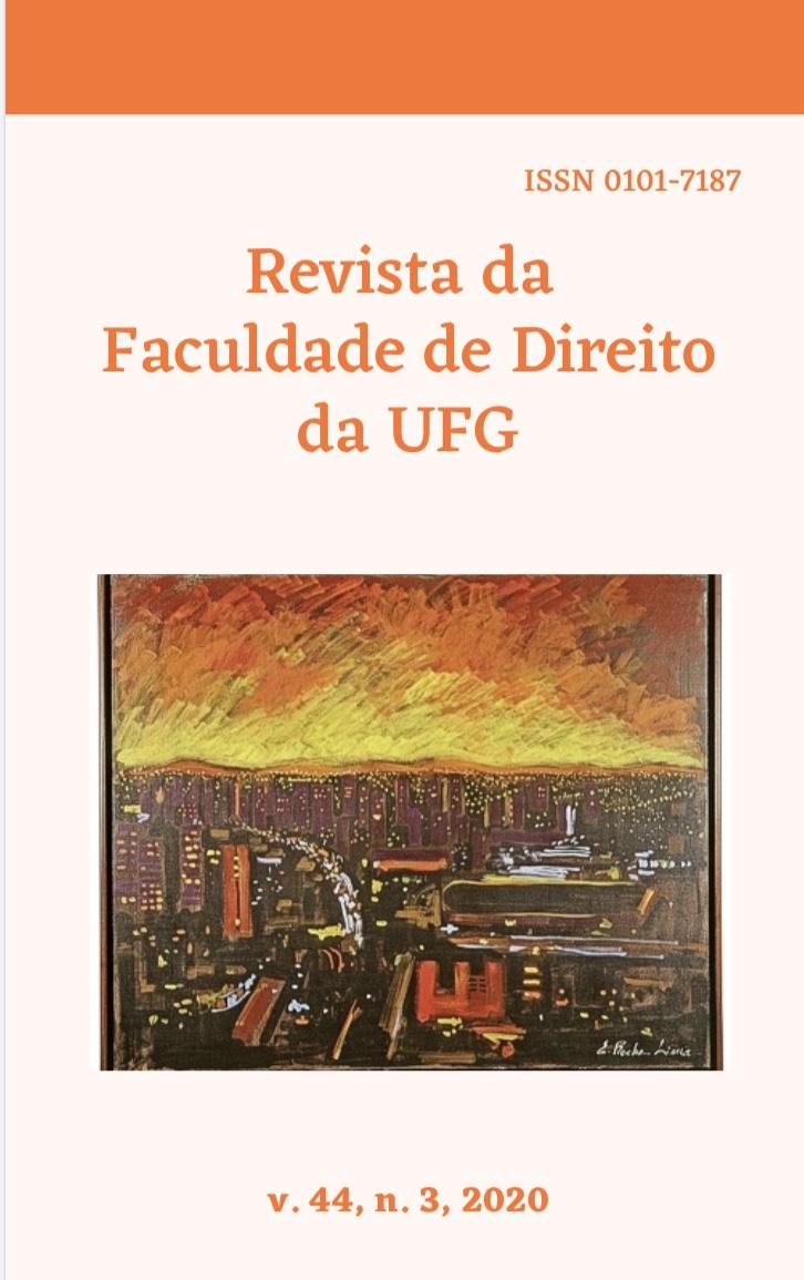 Visualizar v. 44 n. 3 (2020): REVISTA DA FACULDADE DE DIREITO DA UFG