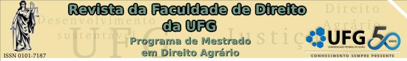 PROGRAMA DE PÓS-GRADUAÇÃO EM DIREITO AGRÁRIO