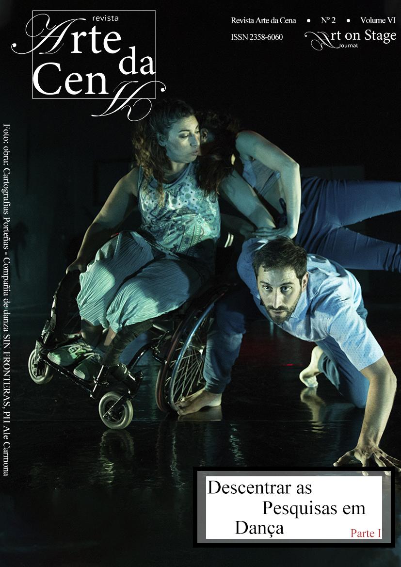 Obra Cartografías Porteñas da  Compañía Danza Sin Fronteras. Créditos:  Ale Carmona