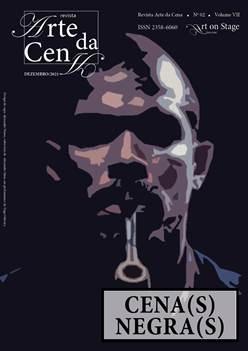 Capa de Identificação Revista Arte da Cena